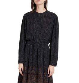 Desigual Glitter Embellished Chiffon Dress