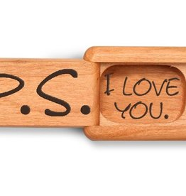 "Heartwood Creations 2"" Flat P.S. I Love You Box"