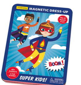 mudpuppy Super Kids! Magnetic Dress-Up