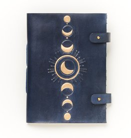 Matr Boomie Indukala Leather Journal- Crescent