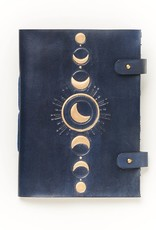 Matr Boomie Indukala Leather Journal- Crescent