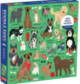 mudpuppy 500 Piece Doodle Dogs Puzzle