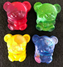 kyle's krayons Teddy Bears (4 pieces) Crayons