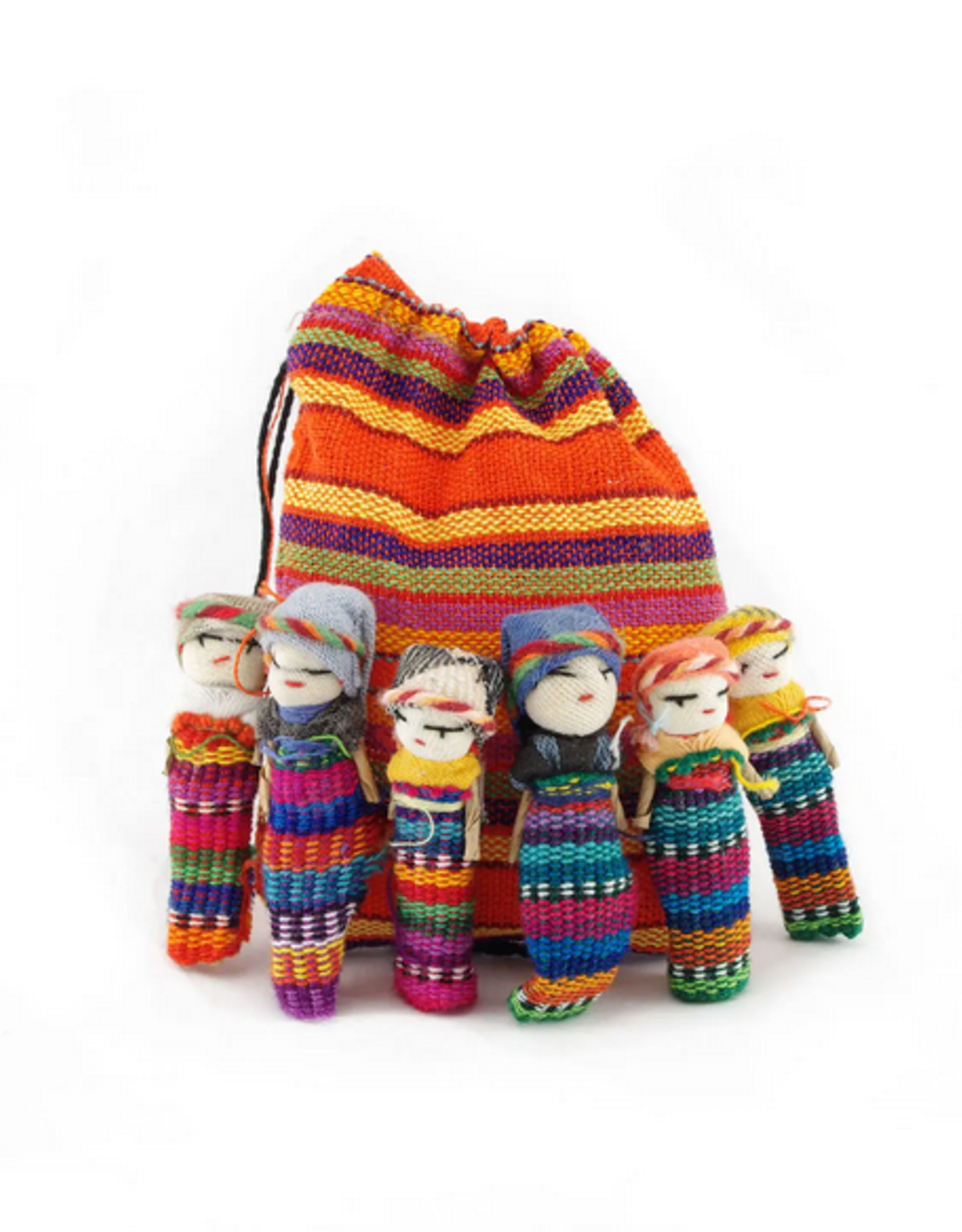 Lucia's Imports Worry Doll Family