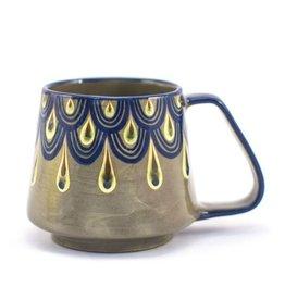 Lucia's Imports Raindrop Beer Mug