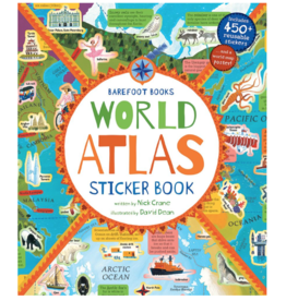 Putumayo World Music World Atlas Sticker Book