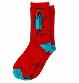 Maggie Stern Maya Angelou Socks