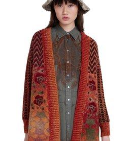 Desigual Boho Knit Jacket