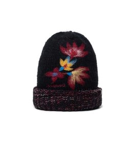 Desigual Knit cap with turn-up brim