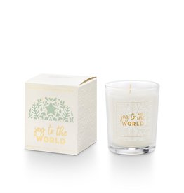 Illume Joy to the World Boxed Votive Candle