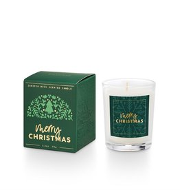 Illume Merry Christmas Boxed Votive Candle