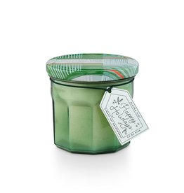Illume Winter Mint Joy Jar Glass Candle