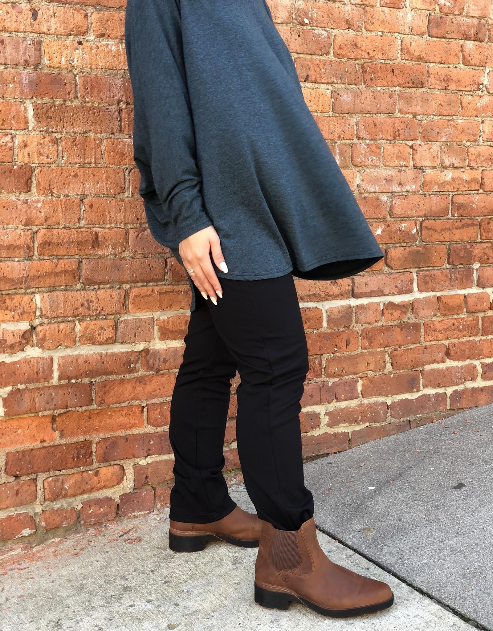 Cut Loose Slim Ankle Pant - Ponti