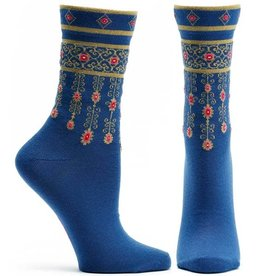 Ozone Designs Bejewled Cuffs Socks