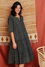 Mata Traders Thais Tiered Dress