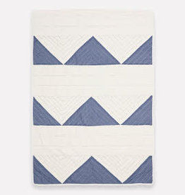 Anchal Project Small Triangle Quilt Slate