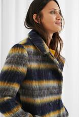 Desigual Stripe Blanket Coat