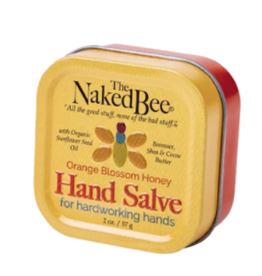 Naked Bee Orange Blossom Honey Hand Salve 2 oz.