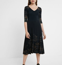 Desigual Vero 3/4 Sleeve Dress