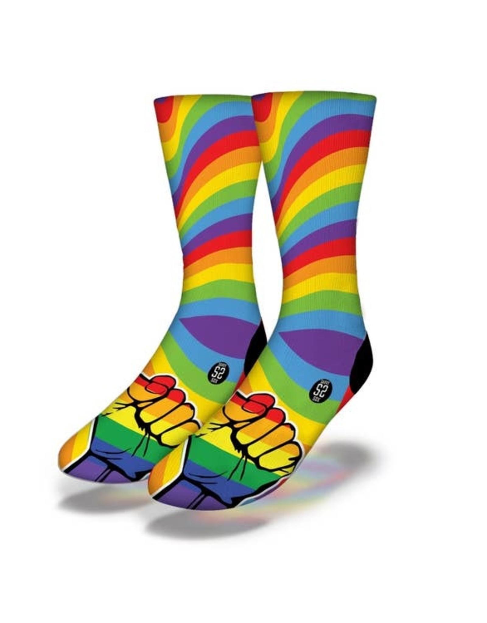 savvy sox LGBTQ Love Power Socks