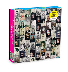 Hachette Andy Warhol Selfies 1,000 Piece Puzzle