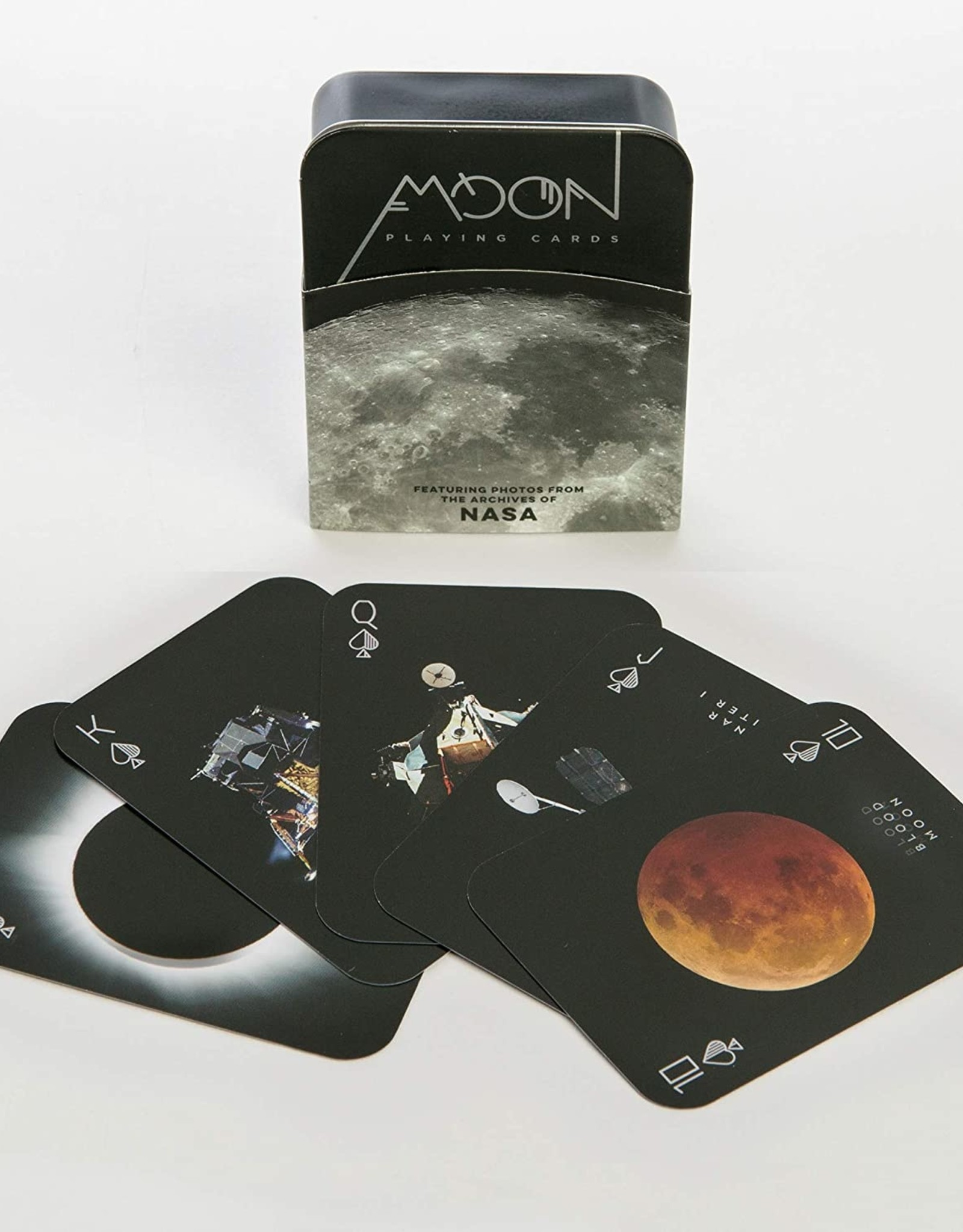 Hachette Moon Playing Cards