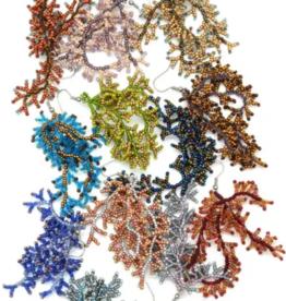 Dunitz & Company Coral Beaded Earrings