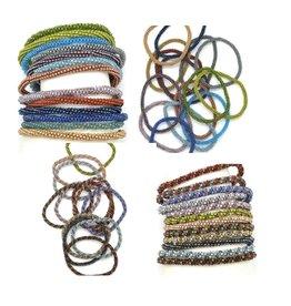 Dunitz & Company Skinnies Peyote Roll On Bracelet