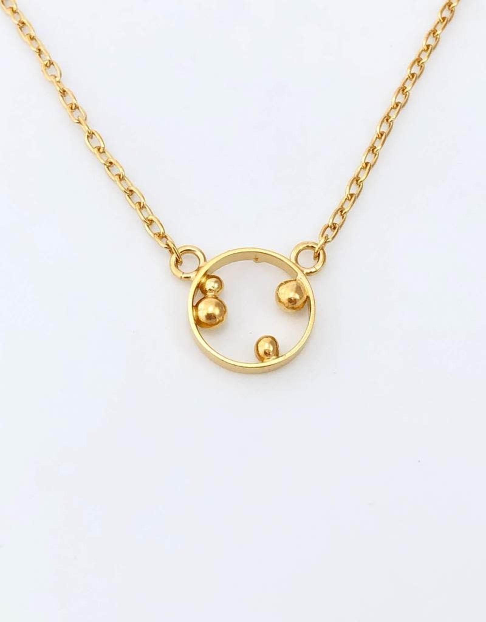 Ginger Meek Allen Container Necklace- 18k Vermeil