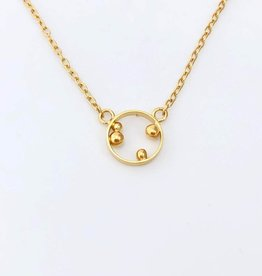 Ginger Meek Allen Container Necklace- 18k Vermeil