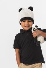 known supply Panda Bear Children's Basic Knit Hat w/ Pom Poms