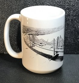 bill batson Two Bridges Mug by Bill Batson