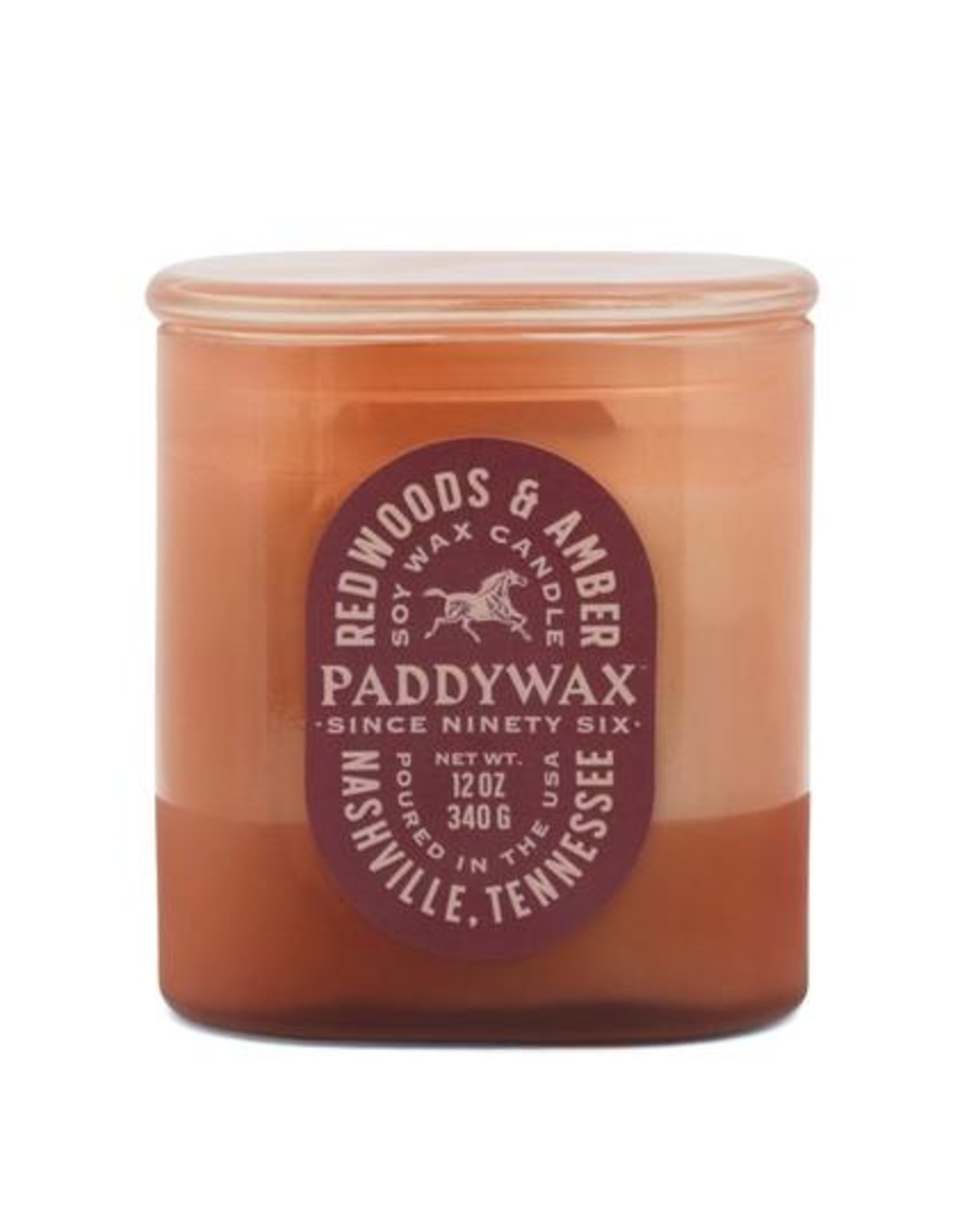Paddywax Vista 12oz. Redwoods & Amber Candle