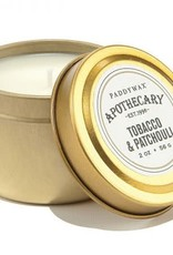 Paddywax Apothecary 2 oz. Tin- Tobacco & Patchouli