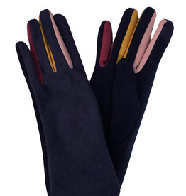 J & X International Women's Gloves - Colorful Trim