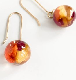 Belart Plant Based Eco-Resin 13mm 24G plated Ear Wire Earrings