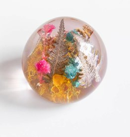 Belart Paperweight Mixed Botanicals Pebble