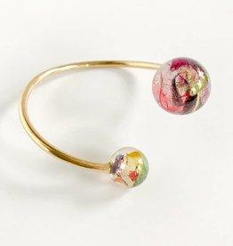 Belart Sari Resin Two Sphere Bracelet