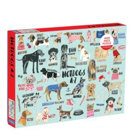 Hachette Hot Dogs A-Z 1000 Piece Puzzle