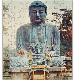 Green Tree Jewelry Buddha Wood Jigsaw Puzzle