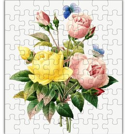 Green Tree Jewelry Rose Wood Jigsaw Puzzle