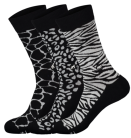 Conscious Step Socks that Protect Wild Animals Gift Box of 3