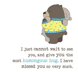 Notes & Queries Humongous Hug Card