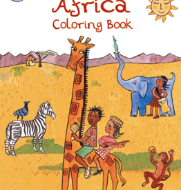 Putumayo World Music Africa Coloring Book