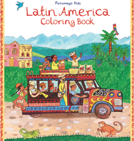 Putumayo World Music Latin America Coloring Book