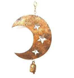 Mira Star Cut Moon Chime