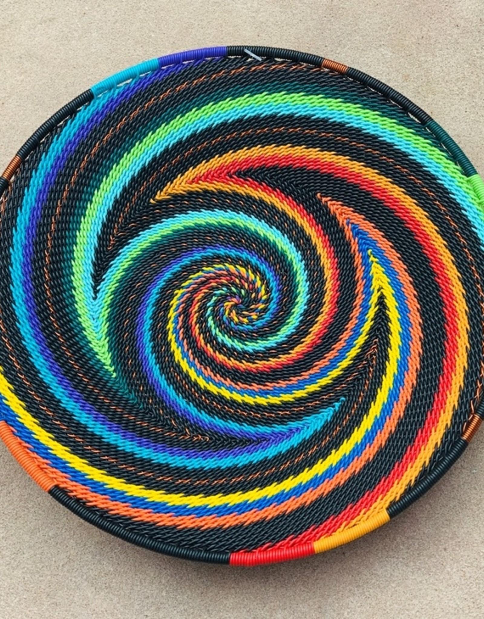 bridge for africa Mini Platter-African Rainbow