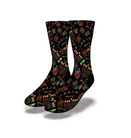 savvy sox Kwanzaa Socks
