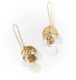Matr Boomie Rajani Earrings-Pearl Drop