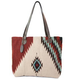 MZ Turquoise + Ruby Tote